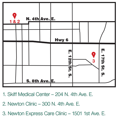 Newton Express Care Clinic - Skiff Medical Center